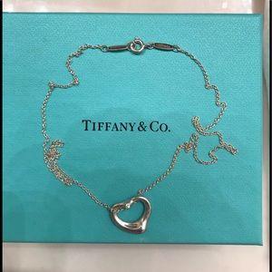Elsa Peretti® Open Heart Pendant with diamond 💖